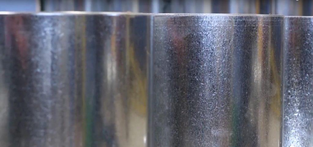 bobina em aço