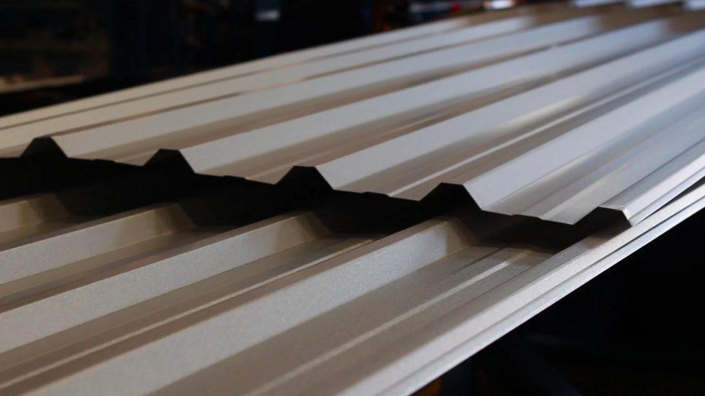 telha metálica simples