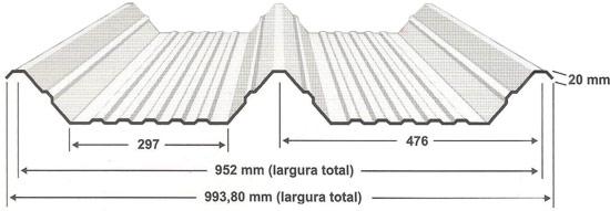 telha trapezoidal