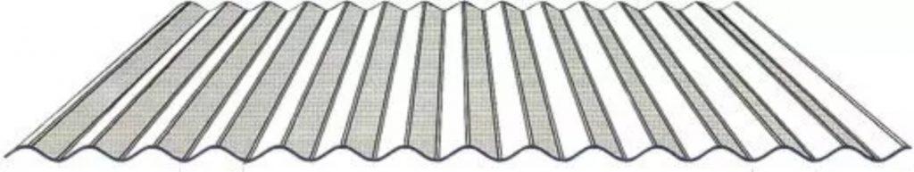 tipos de telhas metálicas ondulada