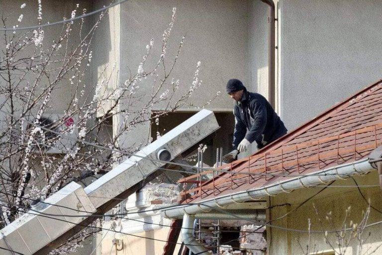 formas para limpeza de telhado