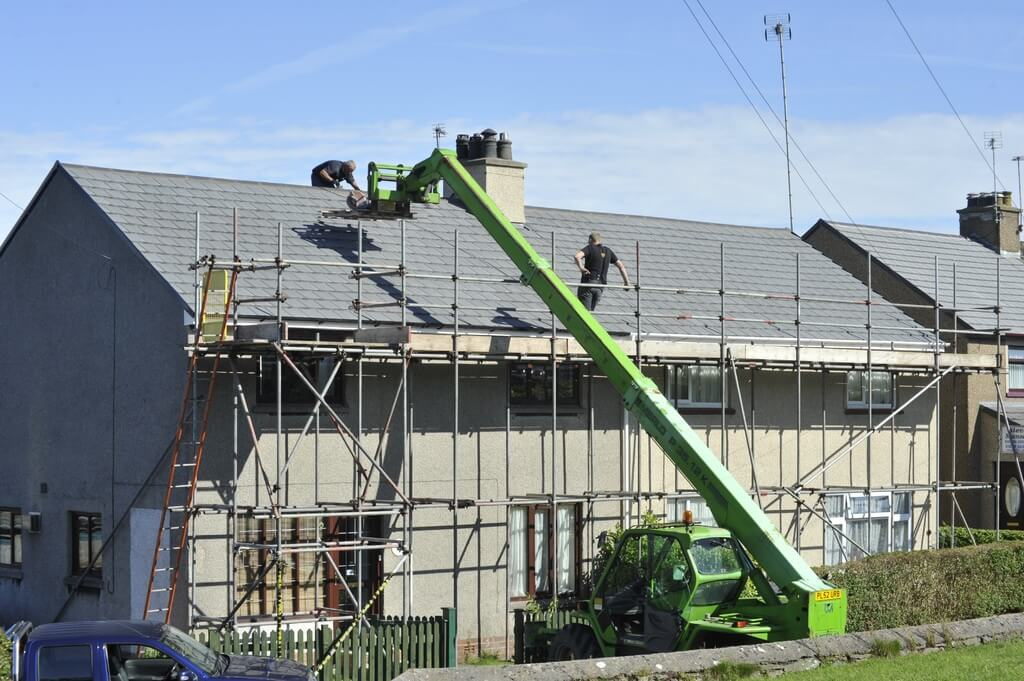 Quais são as partes de um telhado?